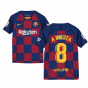 2019-2020 Barcelona Home Nike Shirt (Kids) (A INIESTA 8)
