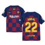 2019-2020 Barcelona Home Nike Shirt (Kids) (ABIDAL 22)