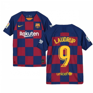 2019-2020 Barcelona Home Nike Shirt (Kids) (LAUDRUP 9)