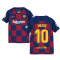 2019-2020 Barcelona Home Nike Shirt (Kids) (MESSI 10)