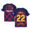 2019-2020 Barcelona Home Nike Shirt (Kids) (VIDAL 22)