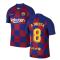 2019-2020 Barcelona Home Vapor Match Nike Shirt (Kids) (A INIESTA 8)
