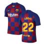 2019-2020 Barcelona Home Vapor Match Nike Shirt (Kids) (ABIDAL 22)
