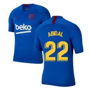 2019-2020 Barcelona Nike Training Shirt (Blue) - Kids (ABIDAL 22)