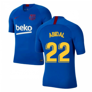 2019-2020 Barcelona Nike Training Shirt (Blue) - Kids (ABIDAL 22)
