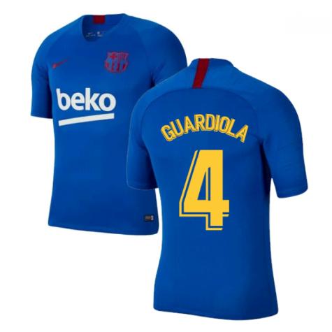 2019-2020 Barcelona Nike Training Shirt (Blue) - Kids (GUARDIOLA 4)