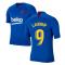 2019-2020 Barcelona Nike Training Shirt (Blue) - Kids (LAUDRUP 9)