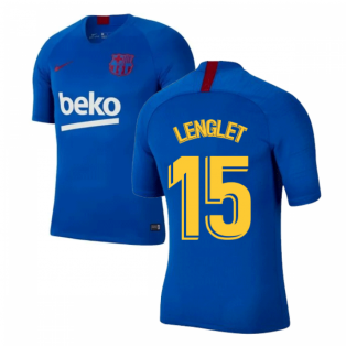 2019-2020 Barcelona Nike Training Shirt (Blue) - Kids (LENGLET 15)