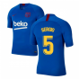 2019-2020 Barcelona Nike Training Shirt (Blue) - Kids (SERGIO 5)