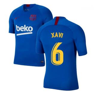 2019-2020 Barcelona Nike Training Shirt (Blue) - Kids (XAVI 6)