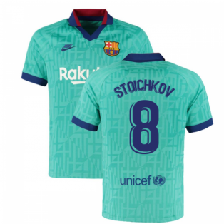 2019-2020 Barcelona Third Nike Football Shirt (STOICHKOV 8)