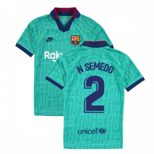 2019-2020 Barcelona Third Nike Shirt (Kids) (N SEMEDO 2)