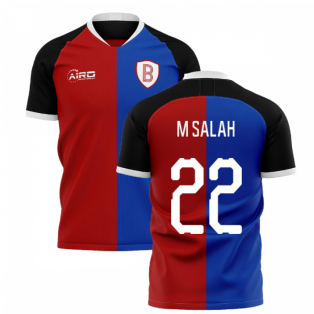 2020-2021 Basel Home Concept Shirt (M Salah 22)