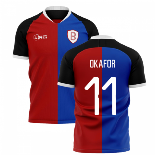2020-2021 Basel Home Concept Shirt (Okafor 11)