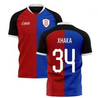 2019-2020 Basel Home Concept Shirt (Xhaka 34)