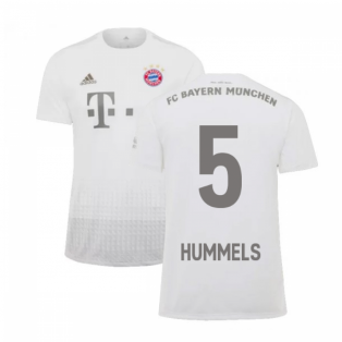 2019-2020 Bayern Munich Adidas Away Football Shirt (HUMMELS 5)