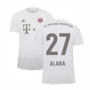 2019-2020 Bayern Munich Adidas Away Shirt (Kids) (ALABA 27)