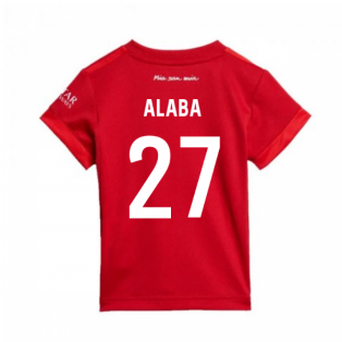 2019-2020 Bayern Munich Adidas Home Baby Kit (ALABA 27)
