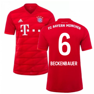 2019-2020 Bayern Munich Adidas Home Football Shirt (BECKENBAUER 6)