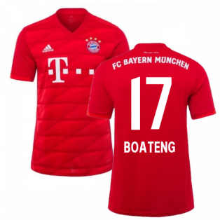 2019-2020 Bayern Munich Adidas Home Football Shirt (BOATENG 17)