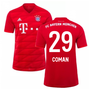 2019-2020 Bayern Munich Adidas Home Football Shirt (COMAN 29)