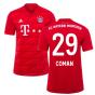 2019-2020 Bayern Munich Adidas Home Football Shirt (COMAN 29)