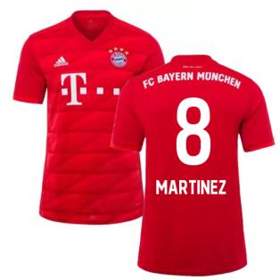 2019-2020 Bayern Munich Adidas Home Football Shirt (MARTINEZ 8)