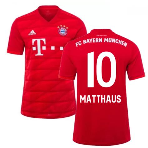 2019-2020 Bayern Munich Adidas Home Football Shirt (MATTHAUS 10)