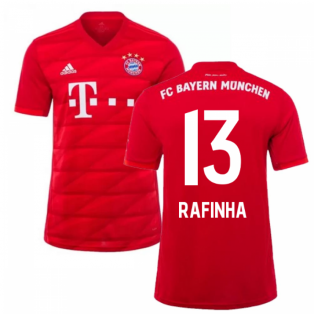 2019-2020 Bayern Munich Adidas Home Football Shirt (RAFINHA 13)