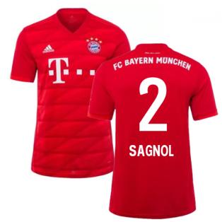 2019-2020 Bayern Munich Adidas Home Football Shirt (SAGNOL 2)