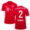 2019-2020 Bayern Munich Adidas Home Football Shirt (SAGNOL 2)