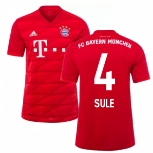 2019-2020 Bayern Munich Adidas Home Football Shirt (SULE 4)