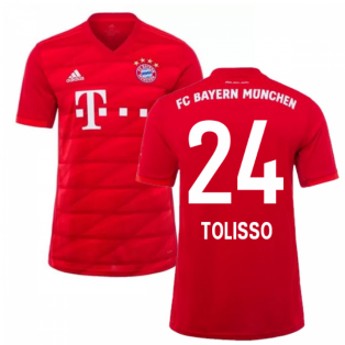 2019-2020 Bayern Munich Adidas Home Football Shirt (TOLISSO 24)