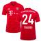 2019-2020 Bayern Munich Adidas Home Football Shirt (TOLISSO 24)