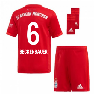 2019-2020 Bayern Munich Adidas Home Little Boys Mini Kit (BECKENBAUER 6)