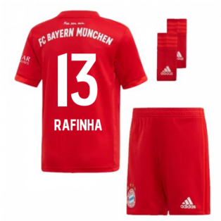 2019-2020 Bayern Munich Adidas Home Little Boys Mini Kit (RAFINHA 13)