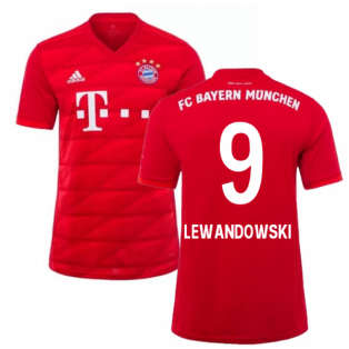 2019-2020 Bayern Munich Adidas Home Shirt (Kids) (LEWANDOWSKI 9)