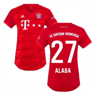 2019-2020 Bayern Munich Adidas Home Womens Shirt (ALABA 27)