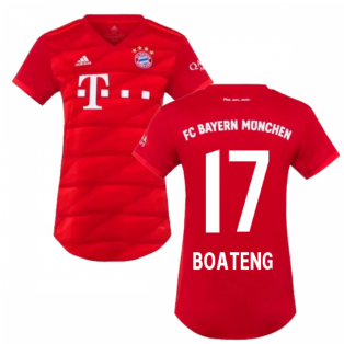 2019-2020 Bayern Munich Adidas Home Womens Shirt (BOATENG 17)