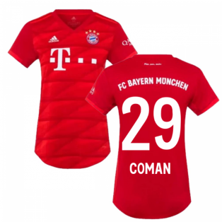 2019-2020 Bayern Munich Adidas Home Womens Shirt (COMAN 29)