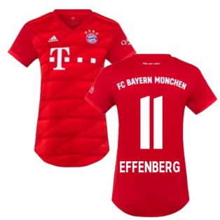 2019-2020 Bayern Munich Adidas Home Womens Shirt (EFFENBERG 11)