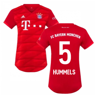2019-2020 Bayern Munich Adidas Home Womens Shirt (HUMMELS 5)