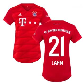 2019-2020 Bayern Munich Adidas Home Womens Shirt (LAHM 21)