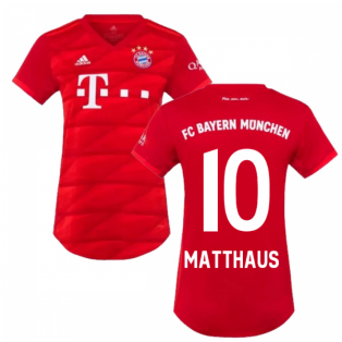 2019-2020 Bayern Munich Adidas Home Womens Shirt (MATTHAUS 10)