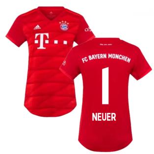 2019-2020 Bayern Munich Adidas Home Womens Shirt (NEUER 1)
