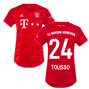 2019-2020 Bayern Munich Adidas Home Womens Shirt (TOLISSO 24)