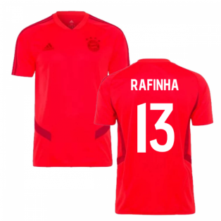2019-2020 Bayern Munich Adidas Training Shirt (Red) (RAFINHA 13)