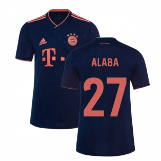 2019-2020 Bayern Munich Third Shirt (ALABA 27)