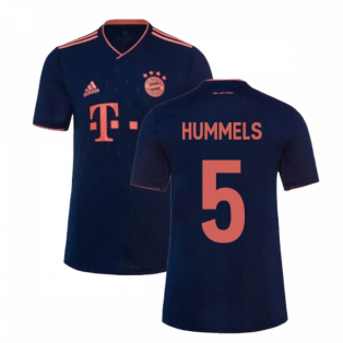 2019-2020 Bayern Munich Third Shirt (Kids) (HUMMELS 5)