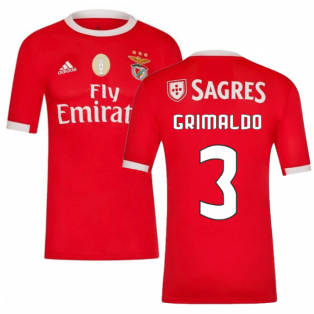 2019-2020 Benfica Adidas Home Football Shirt (Grimaldo 3)